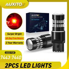Auxito Led 7443 7440 Strobe Blinking Flashing Brake Light Bulb Safety Warning Fits 2004 Honda Civic