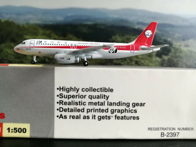 "Star Jets – Airbus A320 ""Sichuan Airlines"" │ 1:500 │ wie Herpa Wings NG"