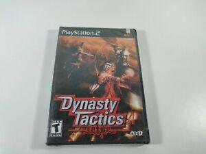 Dynasty Tactics PS2 Koei 2002 New Sealed