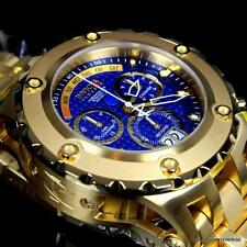 Invicta Reserve Subaqua Specialty Gold Plated Blue Swiss Chronograph Watch New