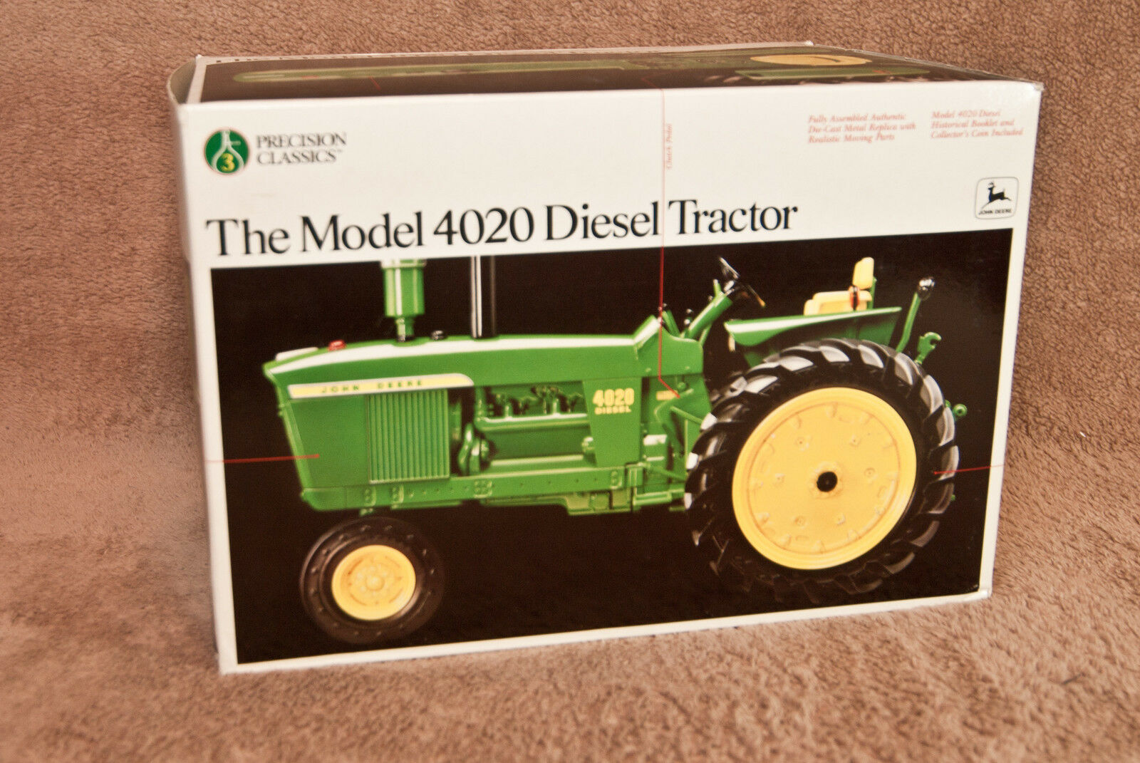 New John Deere Precision Classics  3 Model 4020 Diesel Tractor Ertl 5638 NIB