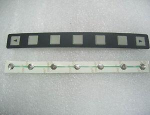 NEW FANUC 7 key MEMBRANE Keypad  A98L-0001-0252 cable,