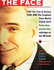 THE FACE #93 January 1988 STEVE MARTIN Tracey Tweed MIKE OWEN Steve Biko @EXCLT@