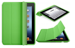 Genuine New Retail Boxed Apple iPad 2 3 /& 4 Green Folding Smart Case Full Cover