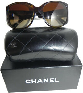 01b8ab886c CHANEL 5227-h Tortoise Frame Mather of Pearl CC Logo Brown Gradient ...