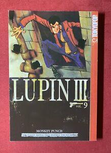 Lupin-III-3-Vol-9-by-Monkey-Punch-LIKE-NEW-English-Manga-2003-Paperback