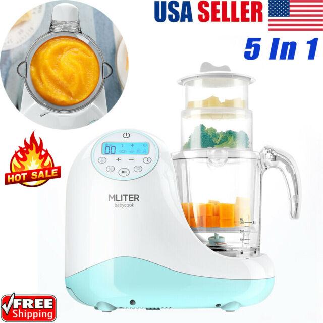 Electric Baby Food Maker Healthy Cook Processor Steamer Mixing Grinder Blender