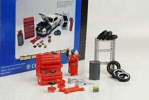 Garage-Atelier-Magasin-Jeu-Diorama-Equipment-Accessoire-1-24-Figurine