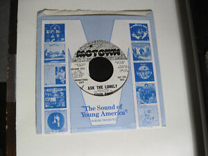 Northern Soul 45 - Four Tops - Ask The Lonely - Motown - EX Condition Promo