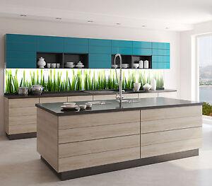 GLAS-DECO Küchenrückwand Glasbild Fliesen für die Küche ...