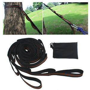 image is loading 2x adjustable hammock straps tree hanging heavy duty  2x adjustable hammock straps tree hanging heavy duty extension      rh   ebay