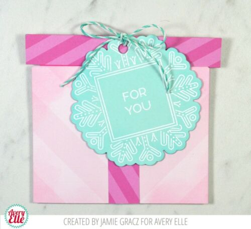 Avery Elle GIFT BOX CARD HOLDER Die Elle-ments D-07-15