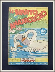 IL-BRUTTO-ANATROCCOLO-Regno-di-Topolino-Disney-90-1939-DISNEYANA-IT