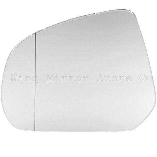 Left Passenger Side WIDE ANGLE WING DOOR MIRROR GLASS For Suzuki Alto 09-14
