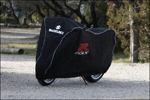 Abdeckplane-Indoor-mit-Suzuki-amp-GSX-R-Logo