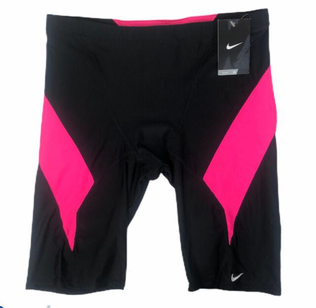 perderse busto Acuerdo  Nike NX Mens Jammers Size 38 Swim Suit Ness4039 Black Fuscia Pink for sale  online   eBay