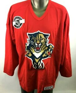 CCM-NHL-Florida-Panthers-Hockey-Jersey-Mens-Sz-XL-Offcial-Licensed-Center-Ice