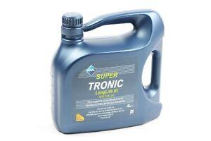 Aral Motoröl Super Tronic 4 Liter 5W-30 Longlife 3 VW AUDI 504.00/507.00 15503C