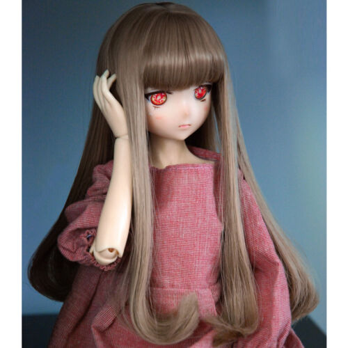 Hand Made Wig Curly  For BJD Doll Dollfie 1//6 1//4 MSD 1//3 SD YOSD DZ Outfit PF