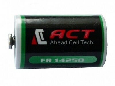 Pile pour MAC Lithium 3.6V 1/2AA ER14250 LS14250 1200mah