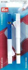 Prym Kreidestifte mit Löschbürste  weiß/blau   611626