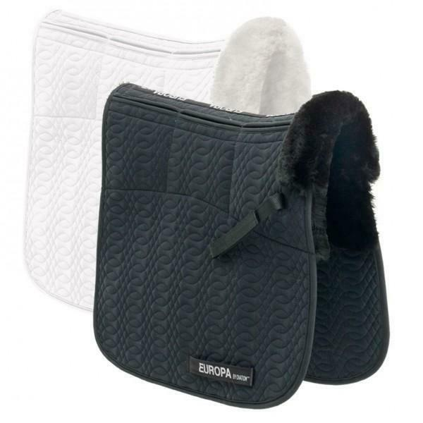 Ovation Europa Sheepskin 6-Shim Dressage Pad