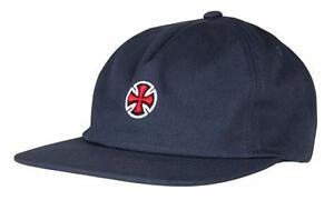 INDEPENDENT TRUCK CO FORT STRAPBACK CAP BLACK