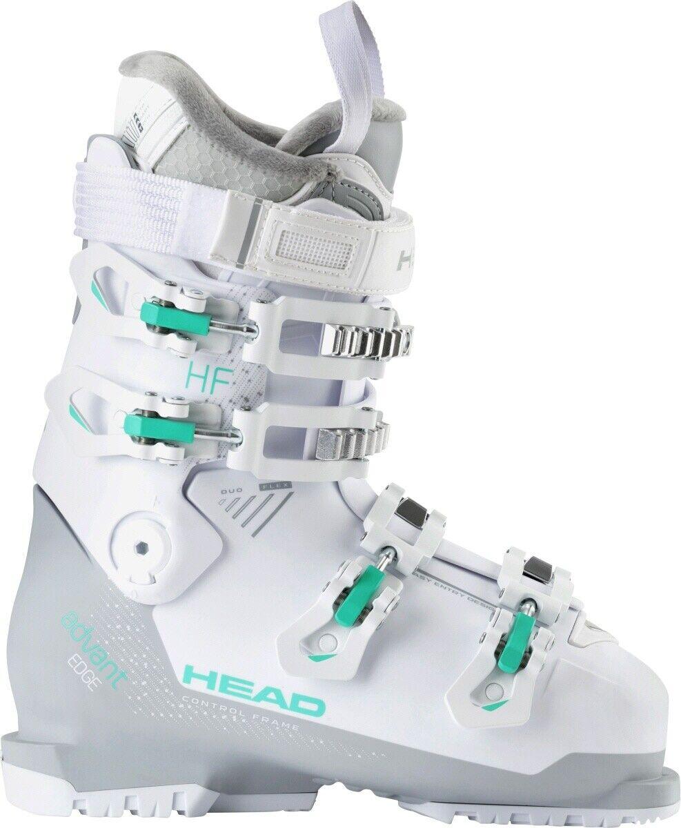 Head Advant Edge HF Damen Skischuhe Skistiefel weiss grau