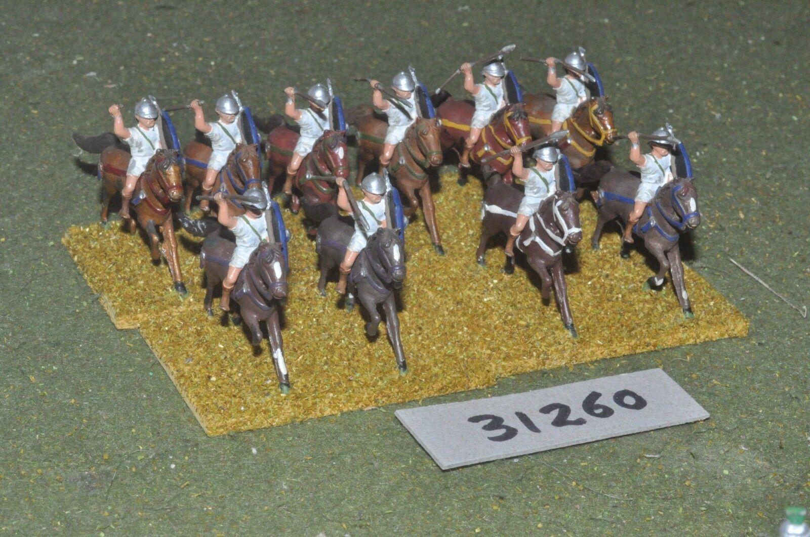 25mm roman era   roman - light 10 figures - cav (31260)