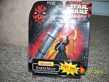 Star Wars Darth Maul Deluxe Jedi Action Figure Hasbro Sith Lord, Lightsaber