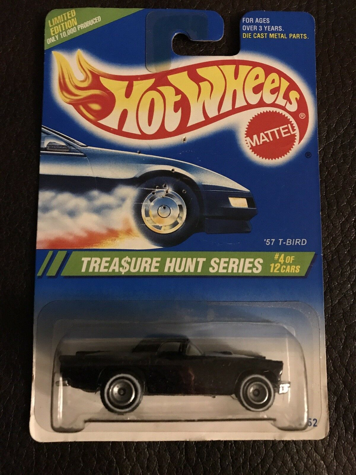 1SUPER HUNT 4 12 '57 T-BIRD -HOT WHEELS-TREASURE HUNT RARE