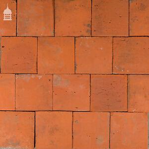 Reclaimed Original 7 Inch x 7 Inch Quarry Tiles 7x7 Floor Tiles Tiles