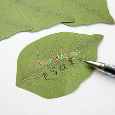 Leaf shape Remove message Sticky Post It Notes Memo pad marker