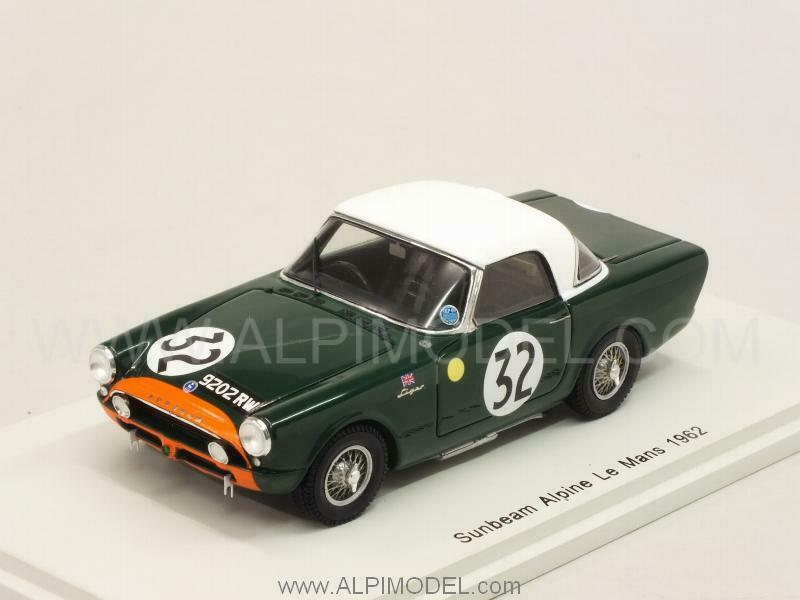 Sunbeam Alpine Le Mans 1962 Harper - Procter 1:43 SPARK S4050