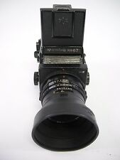 Mamiya RB67 Pro S Complete Outfit,  90MM F3.8 NB Lens, WL Finder, & 120 Mag
