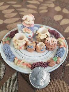 Unmarked-Childrens-Minature-Piggy-Tea-Set