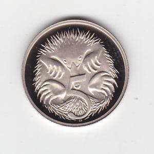 1985-5-Five-Cent-PROOF-Coin-ex-Set-Australia