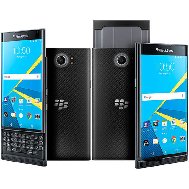 New BlackBerry Priv 4G LTE Unlocked Qwerty Phone 3G/32GB Black