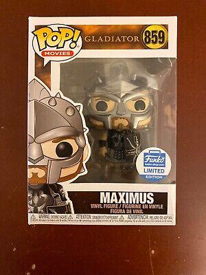 Funko Pop Gladiator Maximus with Helmet ORDER CONFIRMED