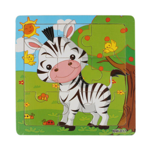 Wooden Giraffe Jigsaw Toys For Kids Education And Learning Puzzles Toys пазлы