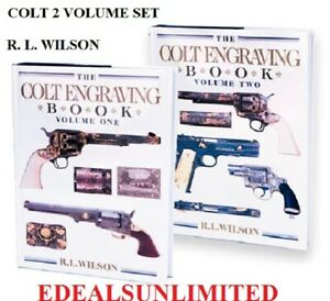 RL-WILSON-The-Colt-Engraving-book-set-Limited-edition-SIGNED-Colt-1911-SAA