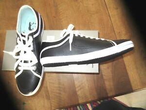 Paul-amp-Joe-scarpe-sportive-slam-pelle-nera-g-m-nuove-valore-140E-Numeri-40-44