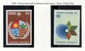 19323-UNITED-NATIONS-Vienna-1982-MNH-Environment