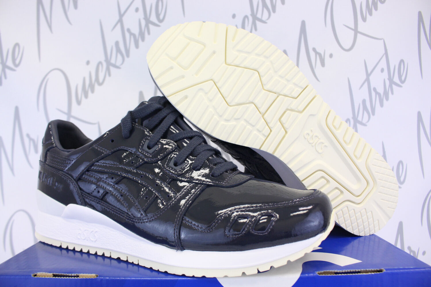 Asic gel lyte 3 iii sz 10,5 inchiostro indiano indiano indiano cuoio h7h1l 5858 623289