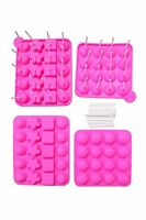 Juvale Silicone Easter Chocolate Lollipop Sucker Mold Set Hard Candy Heat Resist on sale