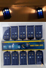 item 6 new bbc dr doctor who tardis police call box 9ft string 10 christmas lights set new bbc dr doctor who tardis police call box 9ft string 10 christmas