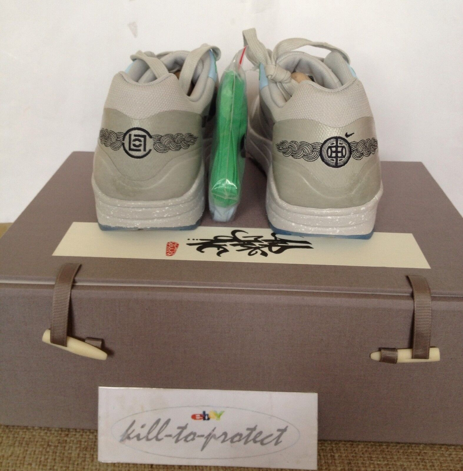 NIKE x SP CLOT AIR MAX 1 SP x Kiss Of Death Sz US8 UK7 W/SPECIAL BOX Rare Atmos 2013 358ce2