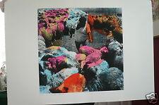 ISRAELI ARTIST~MENASHE KADISHMAN~ Signed Orig.Ltd.Ed. signed/The Sheepherder