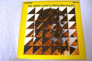 JOHN CAGE'S PREPARED PIANO LP 1975 DECCA RECORDS HEAD 9 LONDON - Italia - JOHN CAGE'S PREPARED PIANO LP 1975 DECCA RECORDS HEAD 9 LONDON - Italia