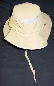 d6f161331 Magellan Outdoors Men's Sailing Hat S/M Fishing Khaki Roll Away Sun ...